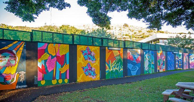 ART AT LARGE murals