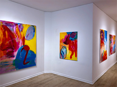 photo of debra drexler's gallery exhibition