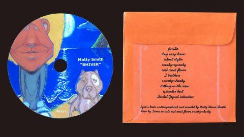 "Matt Smith, ""Bhiver"" Album Cover"