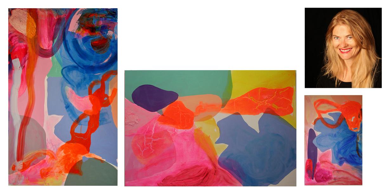 Debra Drexler and paintings