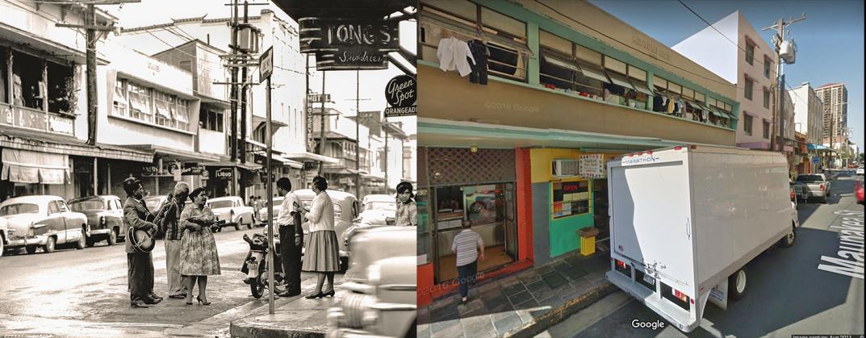Honolulu Chinatown 1960s - 2019