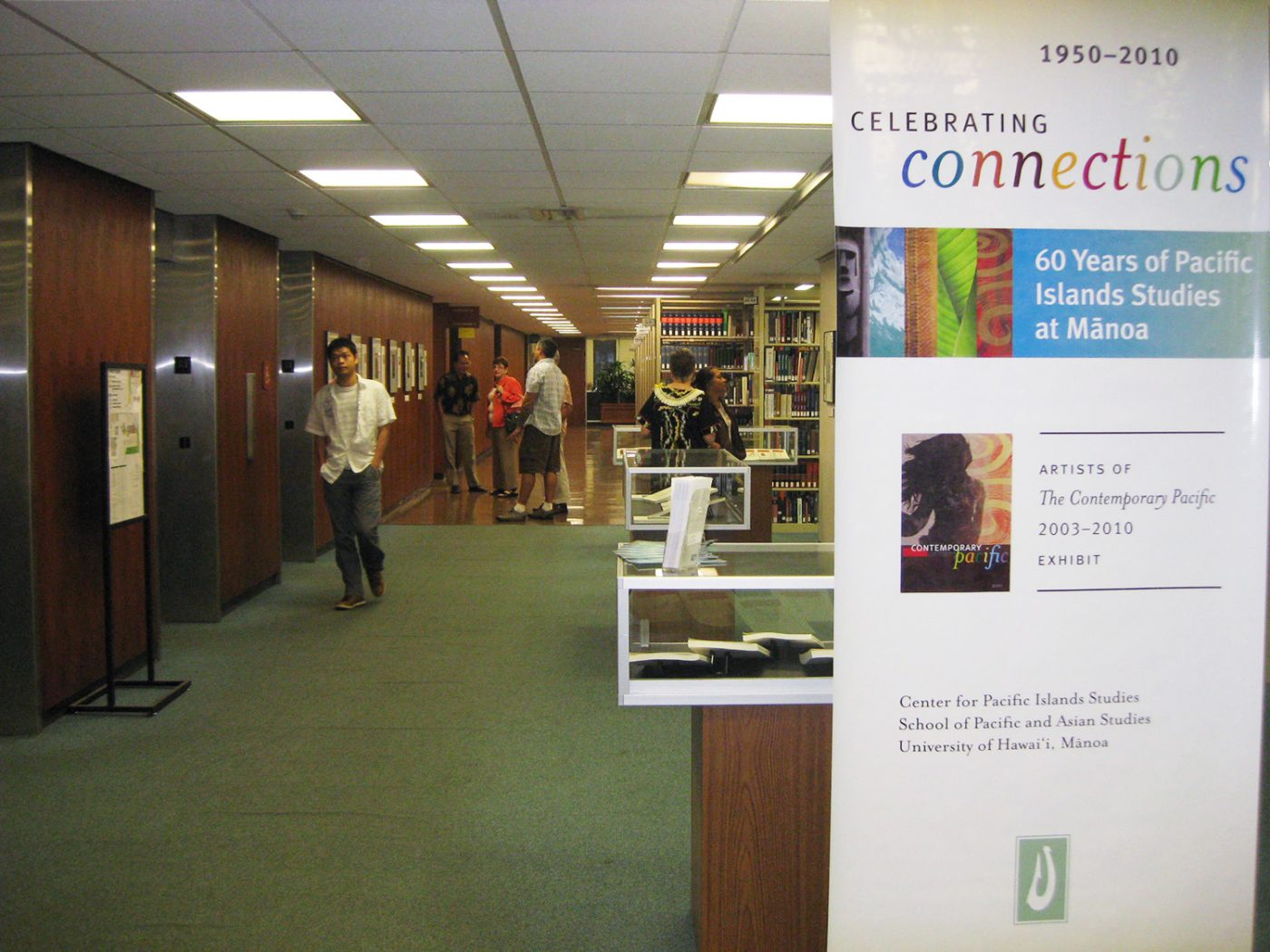 Artists of The Contemporary Pacific 2013-2010 Exhibit in UH Manoa Library