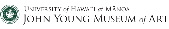 John Young Museum of Art: University of Hawaii at Manoa logo